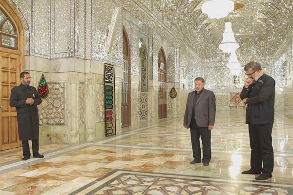 معرفی یک پیرغلام امام حسین (ع) در برنامه تلویزیونی رضوان